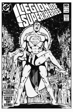 Legion of Superheroes Homage to Crisis On Infinite Earths Issue 7 ( Infinite Timelines : A Multiplicity Of Murders - Chapter 17 ) Comic Art