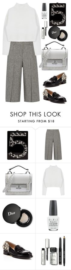 """""""Theory Cullottes"""" by thestyleartisan on Polyvore featuring Chanel, Theory, Marc Jacobs, Dion Lee, Christian Dior, OPI, N°21, Bobbi Brown Cosmetics, women's clothing and women"""