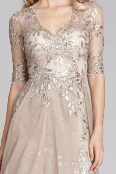Find the perfect Teri Jon cocktail dresses and evening gowns for the mother of the bride. Try our lace dresses, tea length dresses, dresses with sleeves, and other styles to feel like the young and beautiful mother of the bride that you are. Mother Of Bride Outfits, Mother Of The Bride Gown, Mother Of Groom Dresses, Mob Dresses, Tea Length Dresses, Bride Dresses, Wedding Dresses, Pretty Dresses, Beautiful Dresses