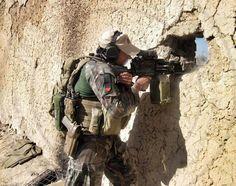 Marine Raider - note the MAP still in use