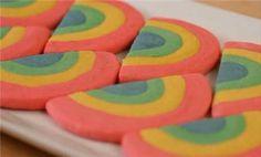 St. Patrick's Day Snacks and Treats: End-o'-the-Rainbow Cookies (via FamilyFun Magazine)