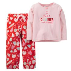 Toddler Girl 2-Piece Fleece PJs | Carters.com