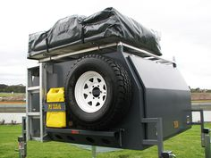 Off-Road Truck Canopy | custom built camping 4wd canopies landcruiser 2400mm sleep in canopy