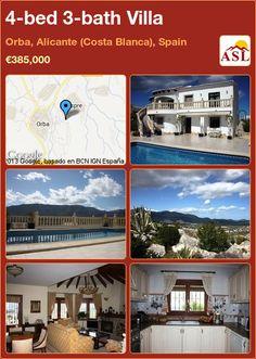 4-bed 3-bath Villa in Orba, Alicante (Costa Blanca), Spain ►€385,000 #PropertyForSaleInSpain