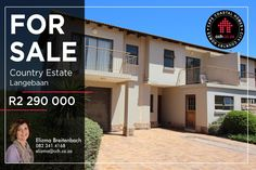 42 Properties and Homes For Sale in Langebaan Country Estate, Langebaan, Western Cape 4 Bedroom Apartments, Apartments For Sale, Provinces Of South Africa, Luxury Property For Sale, Country Estate, Best Investments, Coastal Homes, Real Estate Marketing, National Parks