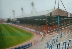 Rugby Park, Kilmarnock in the 1980s.