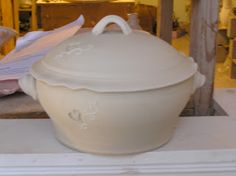 Fine Mess Pottery - Casserole dish in progress