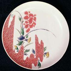 Nabeshima plate, c.1716-35 (porcelain)
