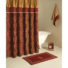 burgundy and gold shower curtain. Whimsical Poppies In Red And Gold Shower Curtain  Buy Curtains From Bed Bath Amp Beyond Determine The