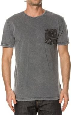 AFENDS LIVIN RAD SS POCKET TEE. http://www.swell.com/Mens-Apparel-New-Products/AFENDS-LIVIN-RAD-SS-POCKET-TEE?cs=GM