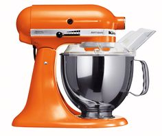 I have this mixer. It is so awesome and makes baking even more fun.