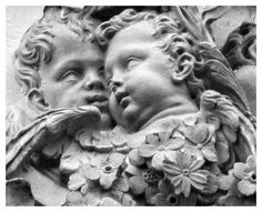 Exquisite carved cherubs and flowers at St Paul's Cathedral