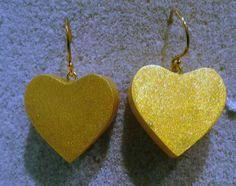 orecchini resina e oro collezione ZSISKA