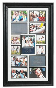 13 Opening Panel Collage Frame for Places I've Lived
