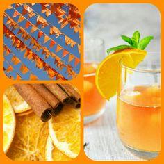 In aanloop naar koningsdag: Oranje Boven. Een kruidige sinaasappel en kaneel geur.