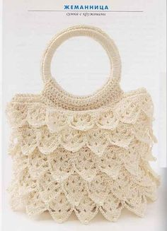 crochet purse  I bet I could do this :)