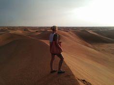 Beautiful desert at sharjah