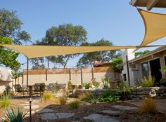 Steve and I were looking for an outdoor patio cover that was a little different, and that didn't require major construction either. We found it in shade sails. Popular in Europe for quite awhile, they... Read More