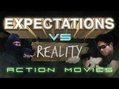▶ Expectations vs. Reality: Action Movies - Hahahaha