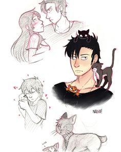 n-a-d-h-i-e:  I drew Nicolas. And Alex. And half cat!Nina's head.