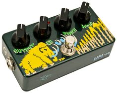 Zvex Wooly Mammoth Bass Fuzz Guitar Pedal | Rainbow Guitars