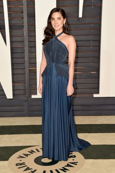 Olivia Munn. See what all the stars wore to the Academy Awards' biggest after party.