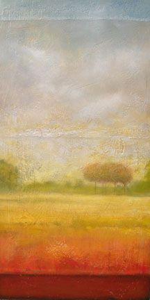 acrylic landscape by robynjoyart