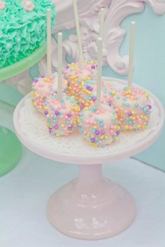 Sweet Fantasy Edible Chocolate Dipped Marshmallows Frost the Cake. $18.00, via Etsy.
