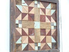rustic wooden quilt block cottage chic barn by IlluminativeHarvest
