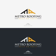 Create A Unique Commercial Residential Building Representing Roofing Company By Eastern Leopard Business Card Logo Design Roofing Business Internet Logo
