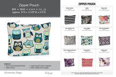 Zipper Pouch http://www.MyThirtyOne.com/JSatterwhite