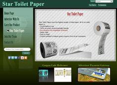 Werbung auf Toilettenpapier #notebook #diary #stationery #notizbuch #tagebuch #papier #notizbuchblog
