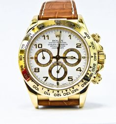 Sell with confidence #Rolex #Daytona #yellowgold #watch #timepiece