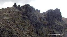 Camino de la portilla. Cresta de Cerro de los Huertos hacia Risco Moreno y el Ameal