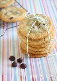 Brown Butter Choc Chip Malt Cookies 2 copy@Laura   Tutti Dolci