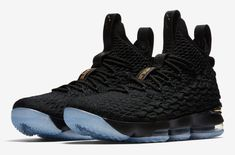 best loved 5f409 5a3d8 Release Date  Nike LeBron 15 Black Metallic Gold