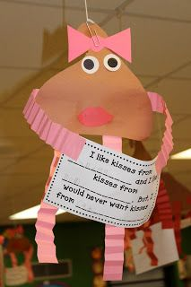 Mrs. Lee's Kindergarten...Who Do You Like Kisses From?