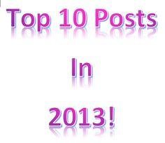 Peanut Life Adventures: Top 10 post in 2013