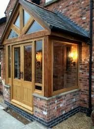 Patient conducted entry porch design check out here landhausstil Front Door Porch, Porch Doors, Front Porch Design, Porch Uk, House With Porch, House Front, Porch Designs Uk, Enclosed Front Porches, Porch Extension