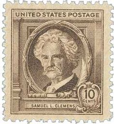 Samuel L. Clemens stamp, He went under the pen name Mark Twain and wrote the classics Tom Sawyer and Huckleberry Finn. Mark Twain, Old Stamps, Vintage Stamps, Shot In The Dark, Going Postal, Thing 1, Stamp Collecting, Poster, History