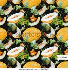 Melon Vector Stock Photos, Images, & Pictures | Shutterstock