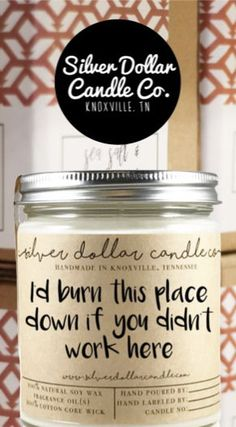 Co-worker Candle Gift Co Worker Gifts, Soy Candles, Scented Candles, Candles Online, Relaxation Gifts, How To Make Box, Gifts For Coworkers, Custom Labels, Candle Making
