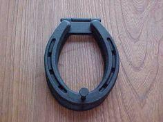 Horseshoe Craft Ideas | Horseshoe art: Horseshoe Door Knocker