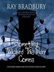 Something Wicked This Way Comes Book I by Ray Bradbury Great Books, My Books, Books To Read, Reading Lists, Book Lists, Audio Drama, Something Wicked, Scary Stories, Original Music