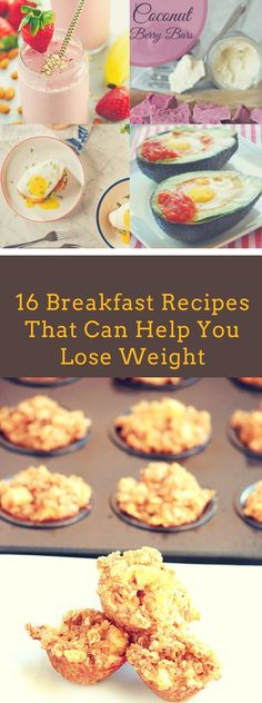 16 Breakfast Recipes That Can Help You Lose Weight #Health #Wellness #Fitness #Tips #Food #Motivation #Remedies #Natural #Mental #Holistic #Skin #Woman's #Facts #Care #Lifestyle #Detox #Beauty #Diet #Body #Nutricion #Skincare #NaturalTreatments #HealthyLifestyle