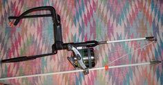 Fishing slingbow