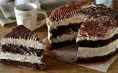 Torta mocaccino, golosissima, fresca facile e cremosa