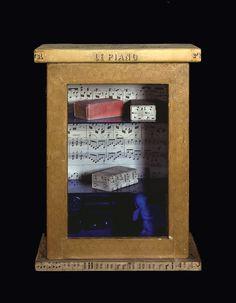 Joseph Cornell, Untitled (Le Piano) (1948)