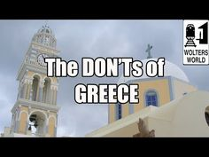 Video from Creta - Visit Greece The DON'Ts of Visiting Greece Emily Videos, Us Travel, Travel Tips, Visit Greece, World Travel Guide, Travel Videos, Greek Islands, Santorini, Athens