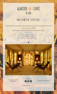 Glacier Salt Cave & Spa's Halloween Special